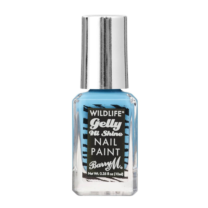 WILDLIFE® Gelly Hi Shine Nail Paint | Ocean Blue, Nail Paint,WLNP3