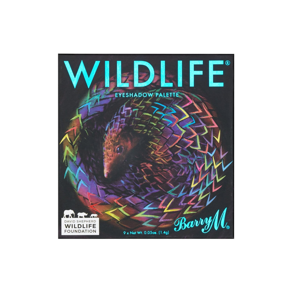 WILDLIFE® Eyeshadow Charity Palette | Pangolin, Palette,WLEP3