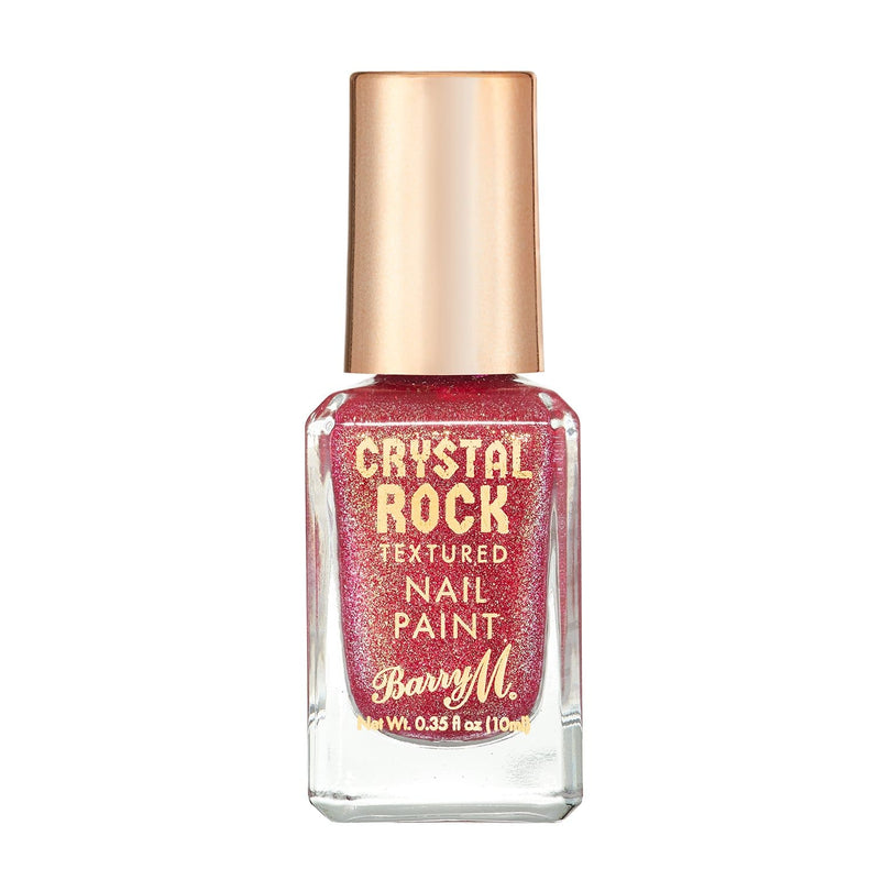 Crystal Rock Textured Nail Paint | Pink Tourmaline, Nail Paint,CRNP1