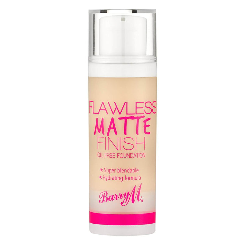 Flawless Matte Finish Foundation, Foundation,LF0