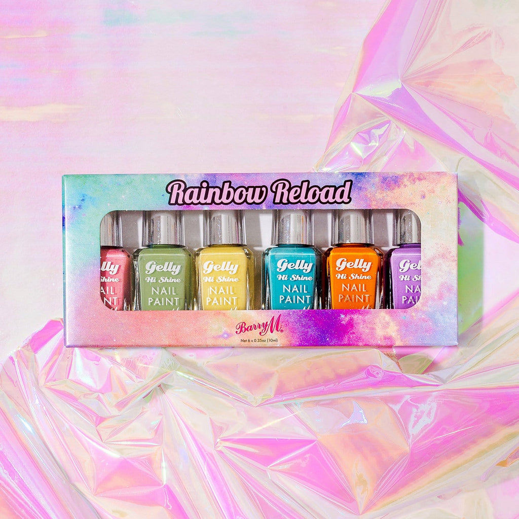 Rainbow Reload Nail Paint Gift Set