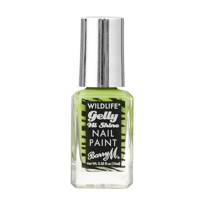 WILDLIFE® Gelly Hi Shine Nail Paint | Rainforest Green, Nail Paint,WLNP4