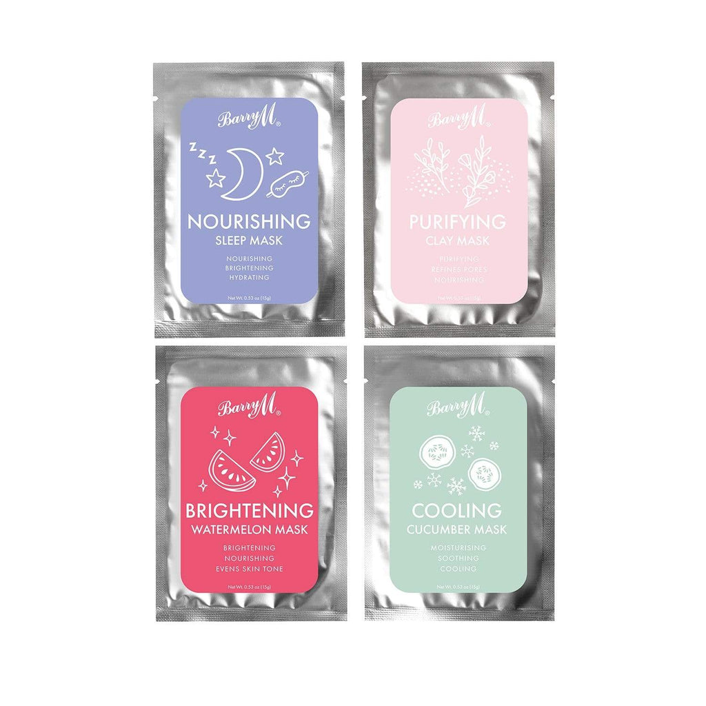 Barry M | Relax and Recharge Face Masks