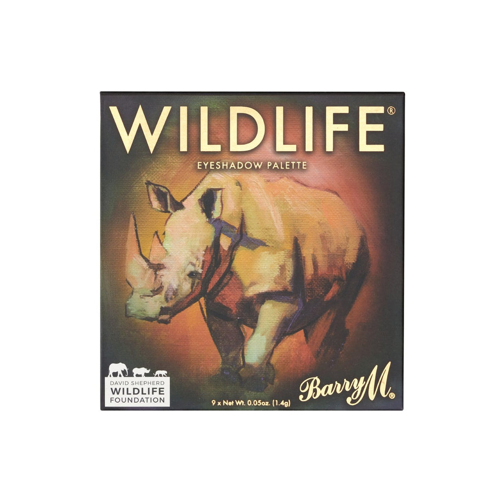 WILDLIFE® Eyeshadow Charity Palette | Rhino