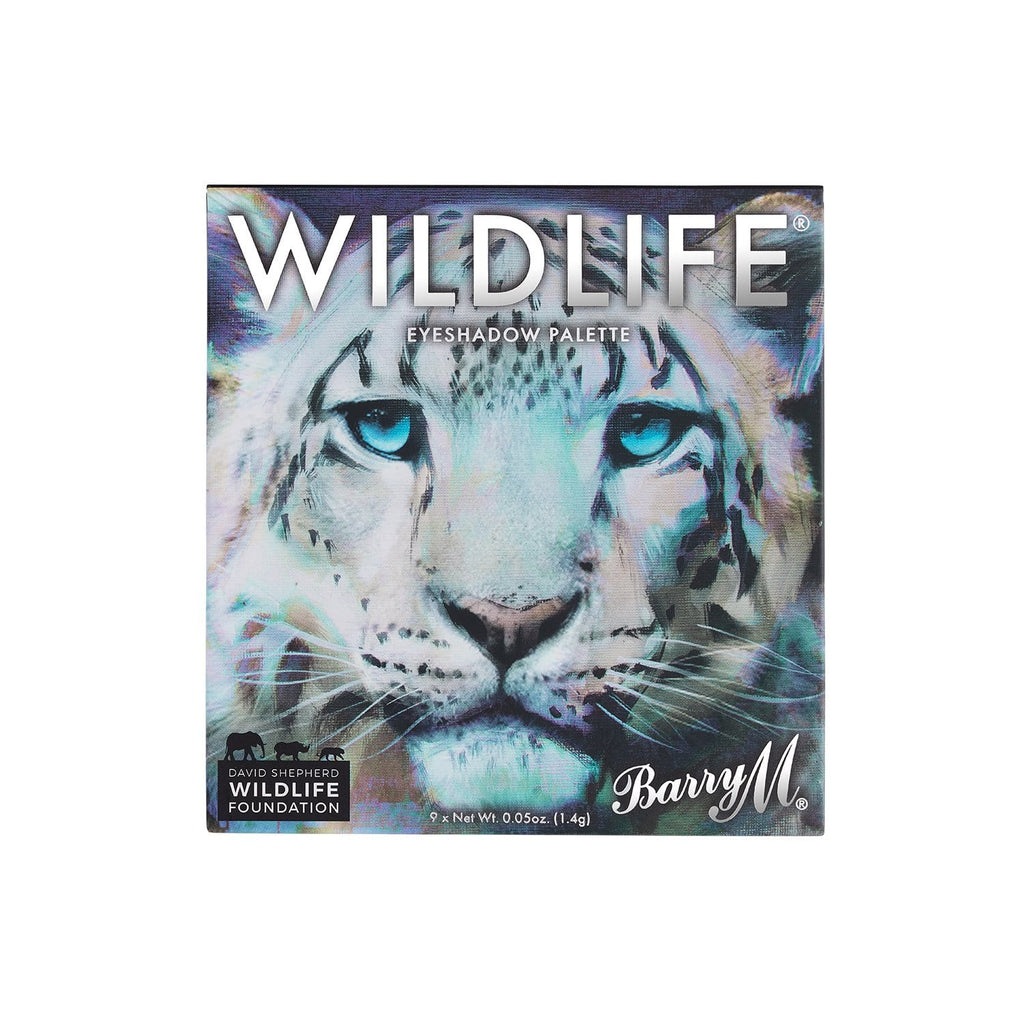 WILDLIFE® Eyeshadow Charity Palette | Snow Leopard