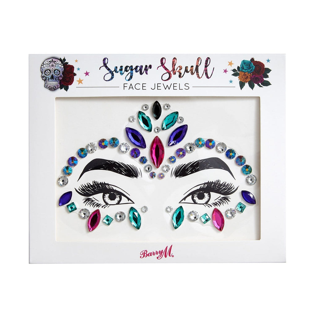 Face Jewels | Sugar Skull, Glitter and Jewels,FJ7
