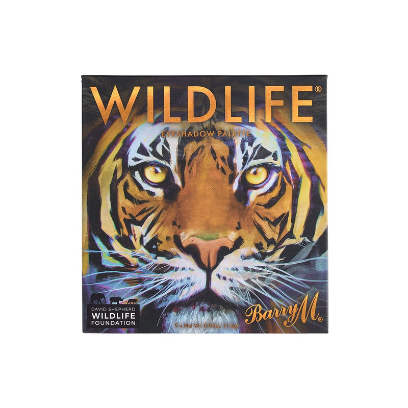 WILDLIFE® Eyeshadow Charity Palette | Tiger, Palette,WLEP2