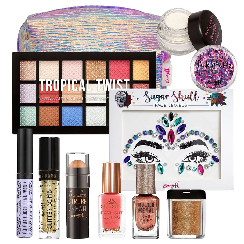 Tropical Bronze Makeup Goody Bag