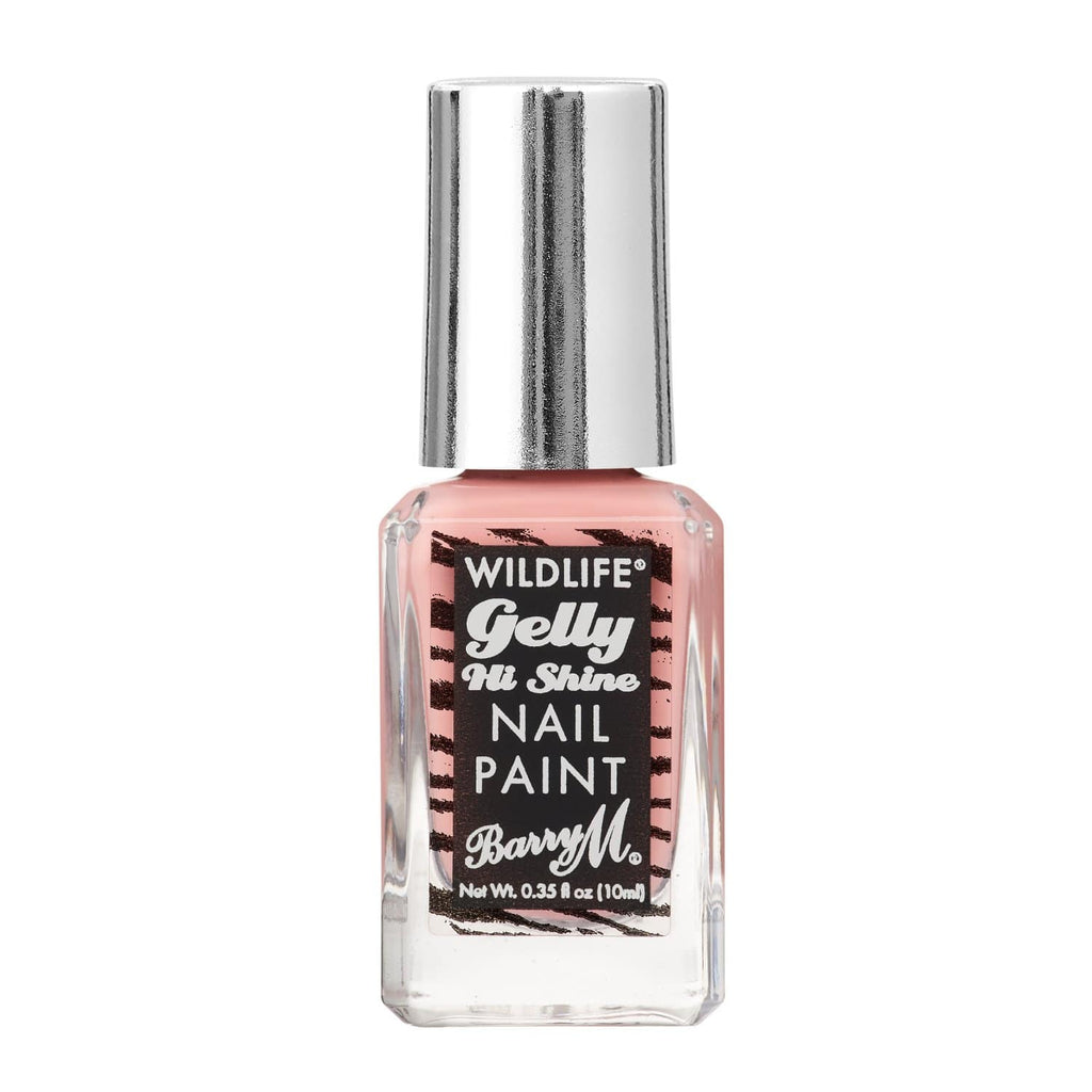 WILDLIFE® Gelly Hi Shine Nail Paint | Tropical Pink