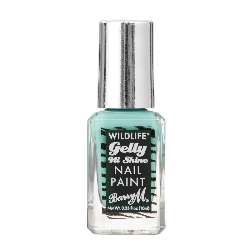 WILDLIFE® Gelly Hi Shine Nail Paint | Rainforest Green