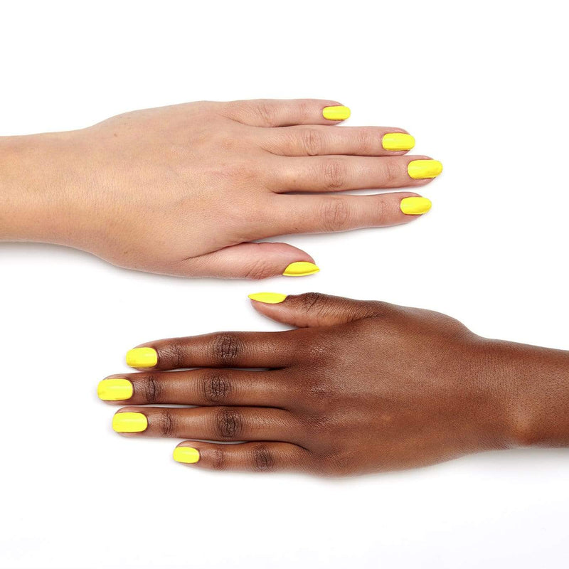Hi Vis Neon Nail Paint | Yellow Flash