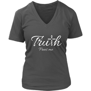 Truth Women's V-Neck - Frees Me
