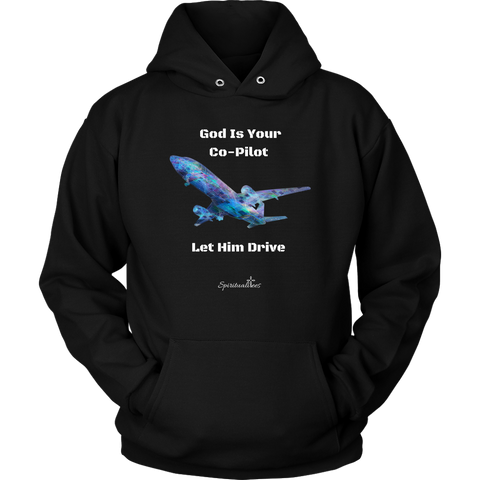 God Is Your Co-Pilot Unisex Hoodie