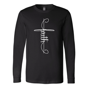 Faith Cross Long Sleeve