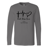 Faith Hope Love - The Rising Utah - Long Sleeve Shirt