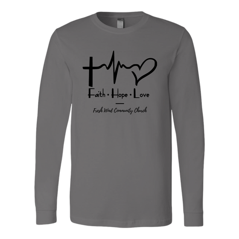 Fresh Wind Long Sleeve Shirt - Faith Hope Love