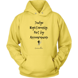 Judge Righteously Unisex Hoodie