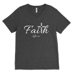 Faith Men's V-Neck - Lifts Me