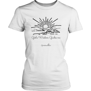 God's Wisdom Women's T-Shirt [Black]