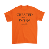 Created With A Purpose Men's T-shirt