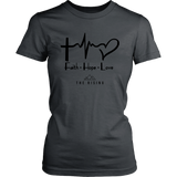 Faith Hope Love - The Rising Utah - Womens Shirt