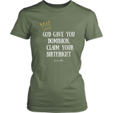 Claim Your Birthright Women's T-Shirt