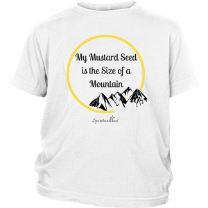 My Mustard Seed Youth T-Shirt [Black]
