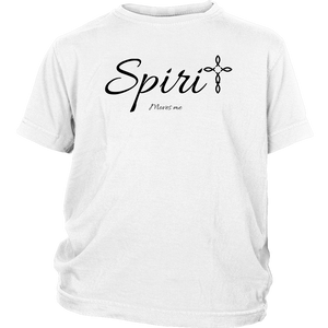 Spirit Youth T-Shirt - Moves Me [Black]