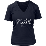Faith Women's V-Neck - Lifts Me