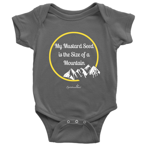 My Mustard Seed Baby Bodysuit