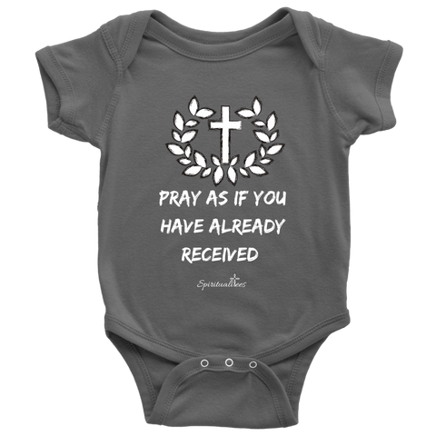 Pray As If Baby Bodysuit