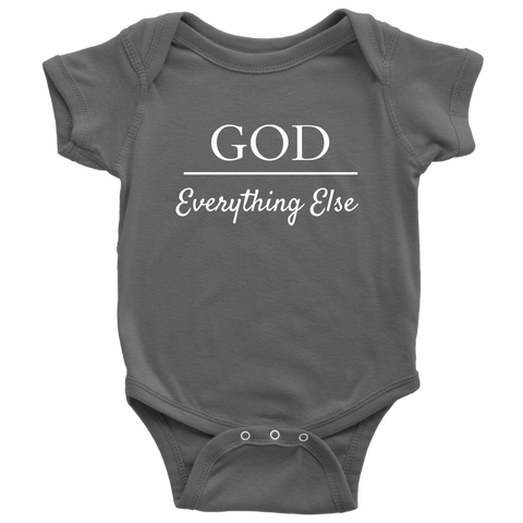God Over Everything Else Baby Bodysuit