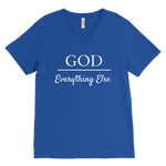 God Over Everything Else Men's V-Neck