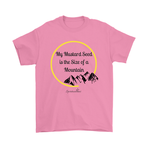 My Mustard Seed Men's T-Shirt [Black]