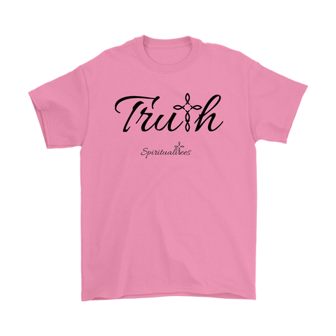 Truth Men's T-Shirt - Spiritualitees [Black]