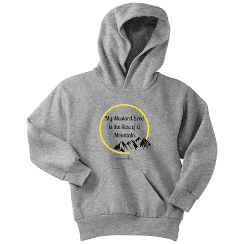 My Mustard Seed Youth Hoodie [Black]