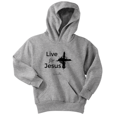 Live for Jesus Youth Hoodie