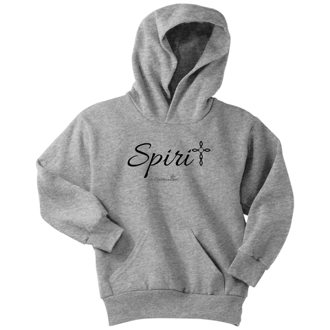 Spirit Youth Hoodie - Spiritualitees [Black]