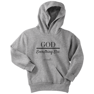 God Over Everything Else Youth Hoodie [Black]