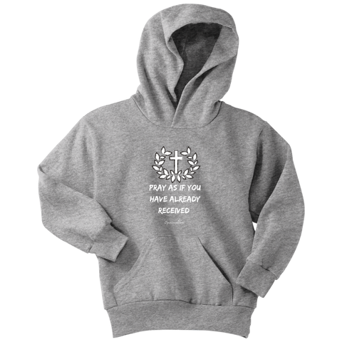 Pray As If Youth Hoodie