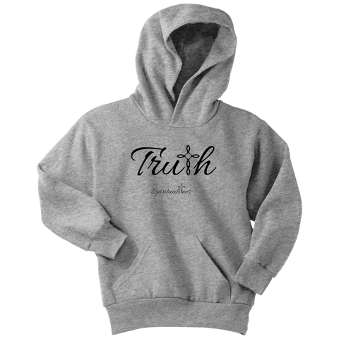 Truth Youth Hoodie - Spiritualitees [Black]