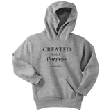 Created With A Purpose Youth Hoodie