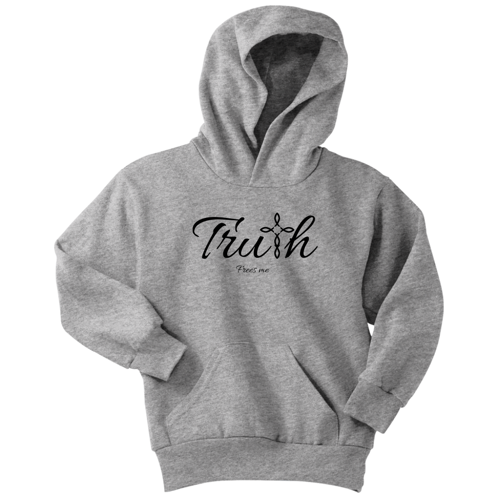 Truth Youth Hoodie - Frees Me [Black]