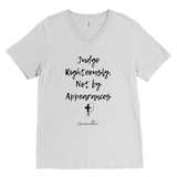 Judge Righteously Men's V-Neck