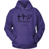 Faith Hope Love - The Rising Utah - Unisex Hoodie