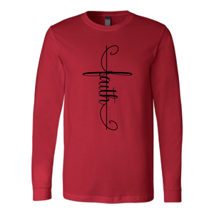 Faith Cross Long Sleeve [Black]
