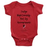 Judge Righteously Baby Bodysuit