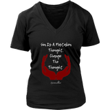 Change The Thought Women's V-Neck
