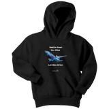 God Is Your Co-Pilot Youth Hoodie