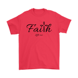 Faith Men's T-Shirt - Lifts Me [Black]